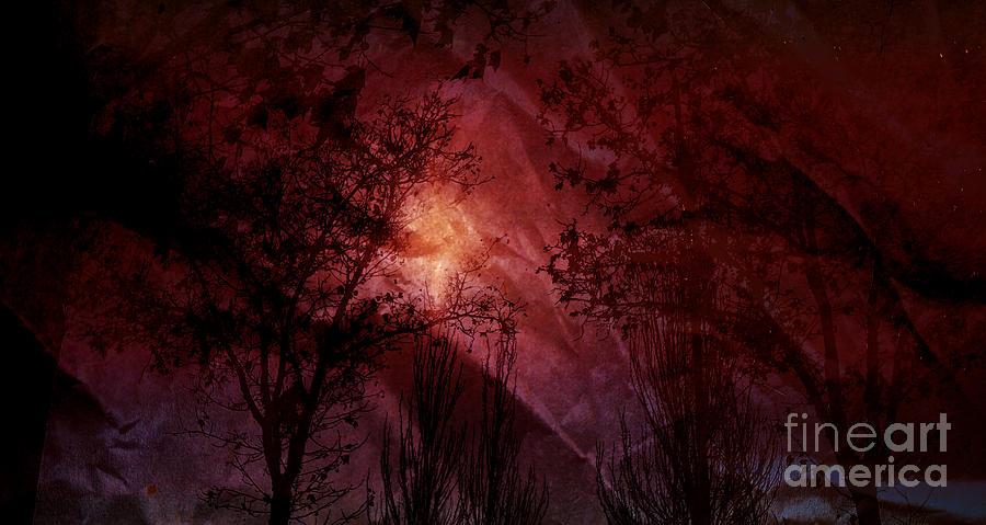 Between Darkness Mixed Media