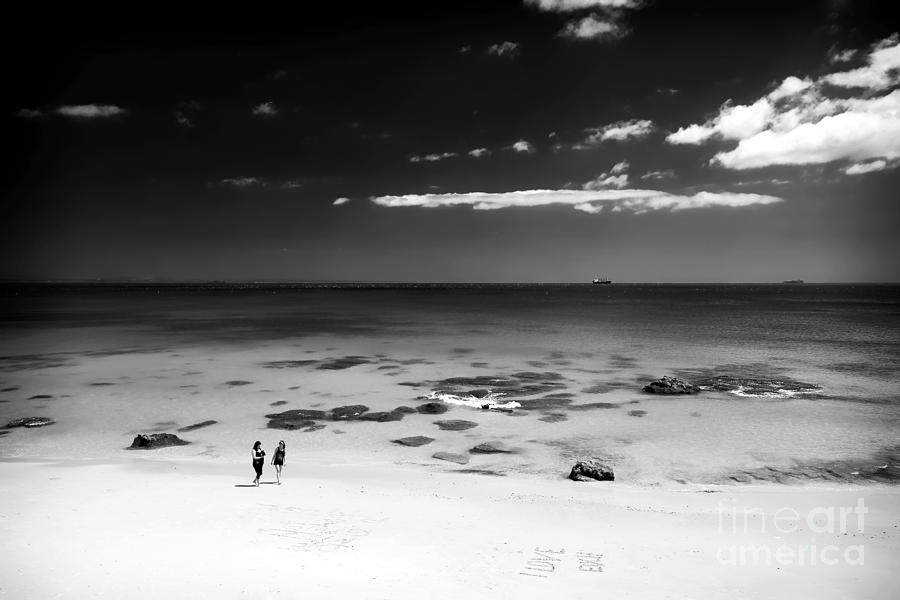 Between Friends Photograph  - Between Friends Fine Art Print