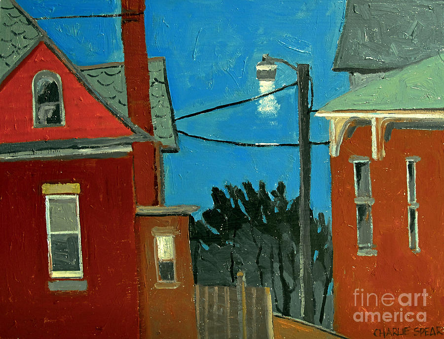 Between The Alley And 6th St Painting  - Between The Alley And 6th St Fine Art Print