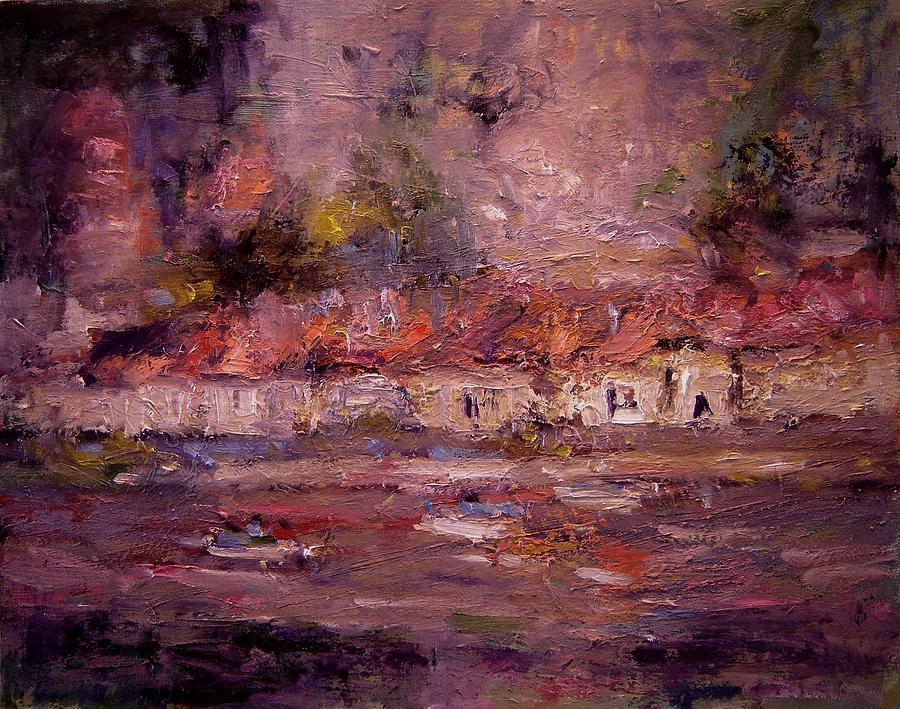 Beynac Painting