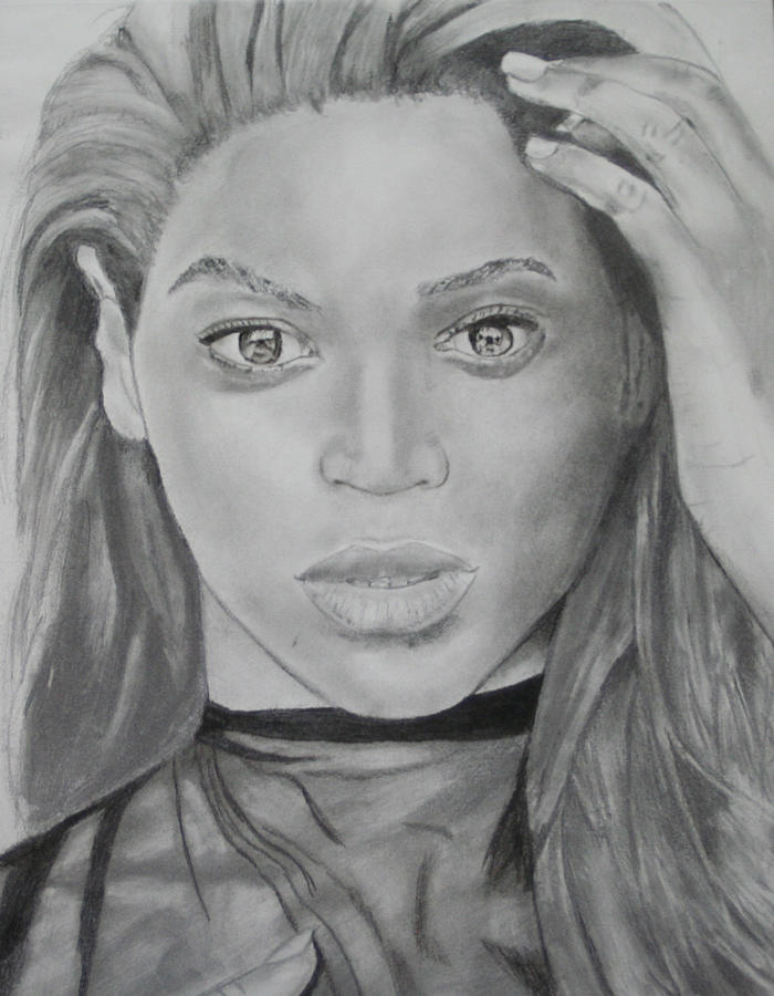 Beyonce Drawing