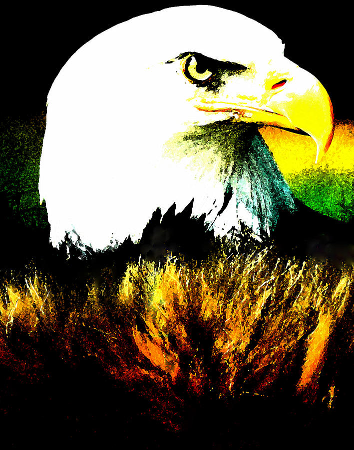 Beyond Eagle View Painting  - Beyond Eagle View Fine Art Print