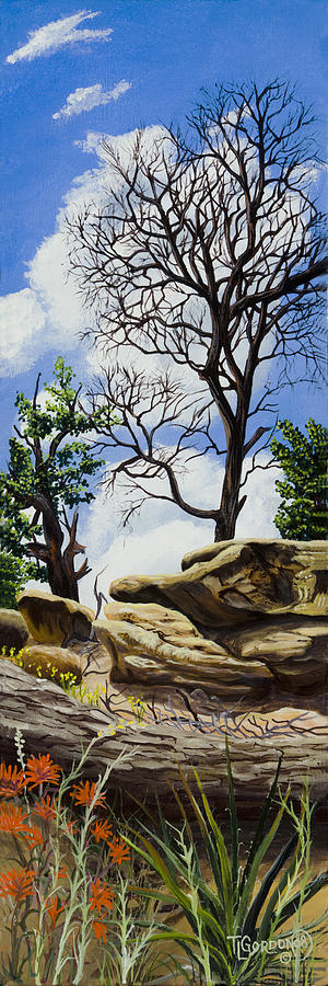 Landscape Painting - Beyond Its Time by Timithy L Gordon