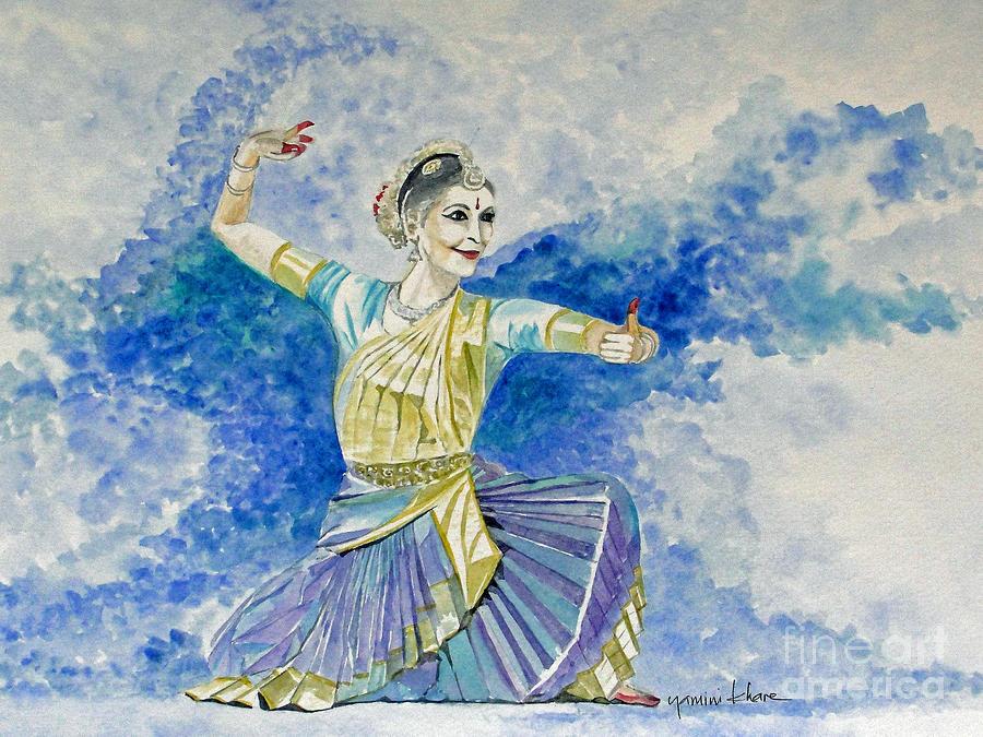 bharatanatyam dance painting - photo #10