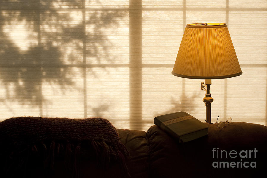 lamp and bible - photo #40