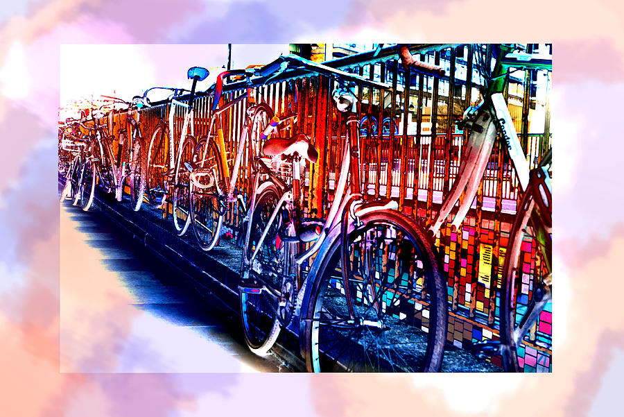 Bicycle Art - Ref 5804 Photograph  - Bicycle Art - Ref 5804 Fine Art Print