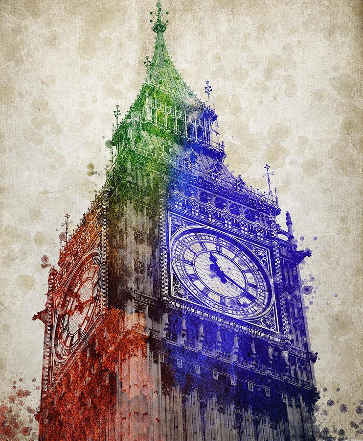 Big Ben London Digital Art
