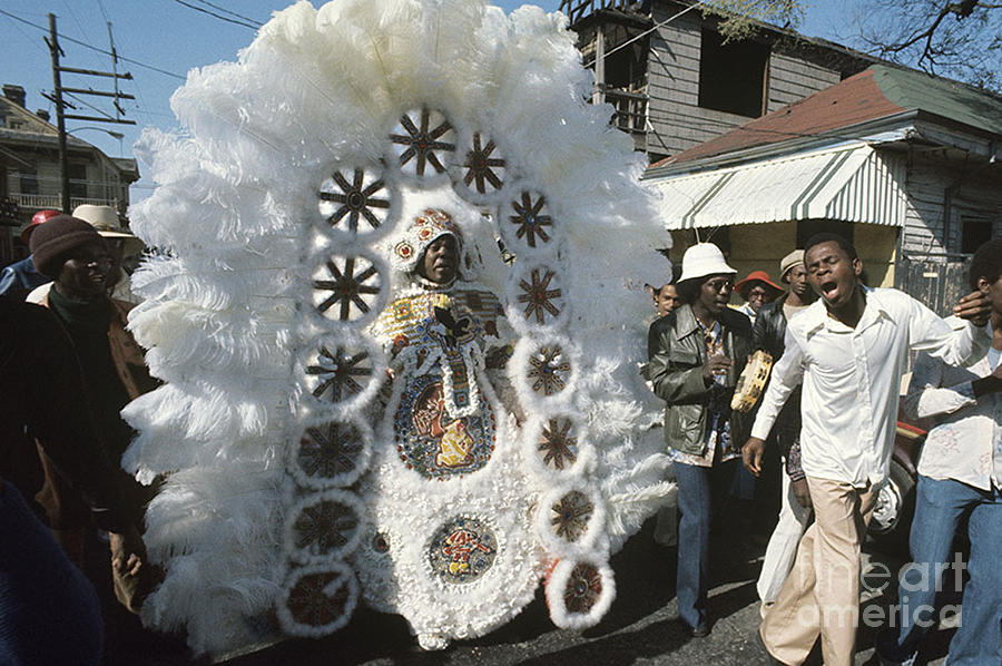 Big Chief Mardi Gras Indian Photograph  - Big Chief Mardi Gras Indian Fine Art Print
