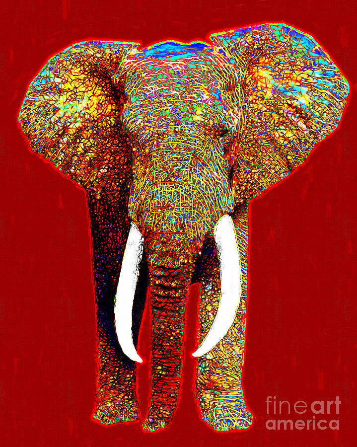 Big Elephant 20130201p0 Photograph  - Big Elephant 20130201p0 Fine Art Print