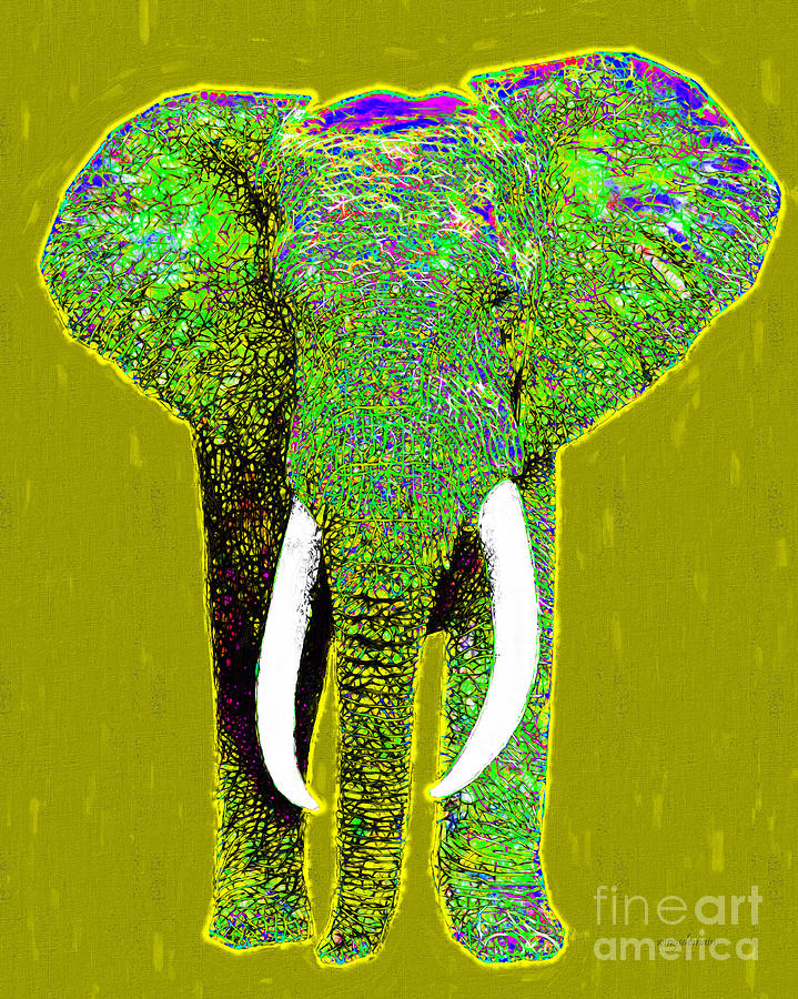 Big Elephant 20130201p60 Photograph  - Big Elephant 20130201p60 Fine Art Print
