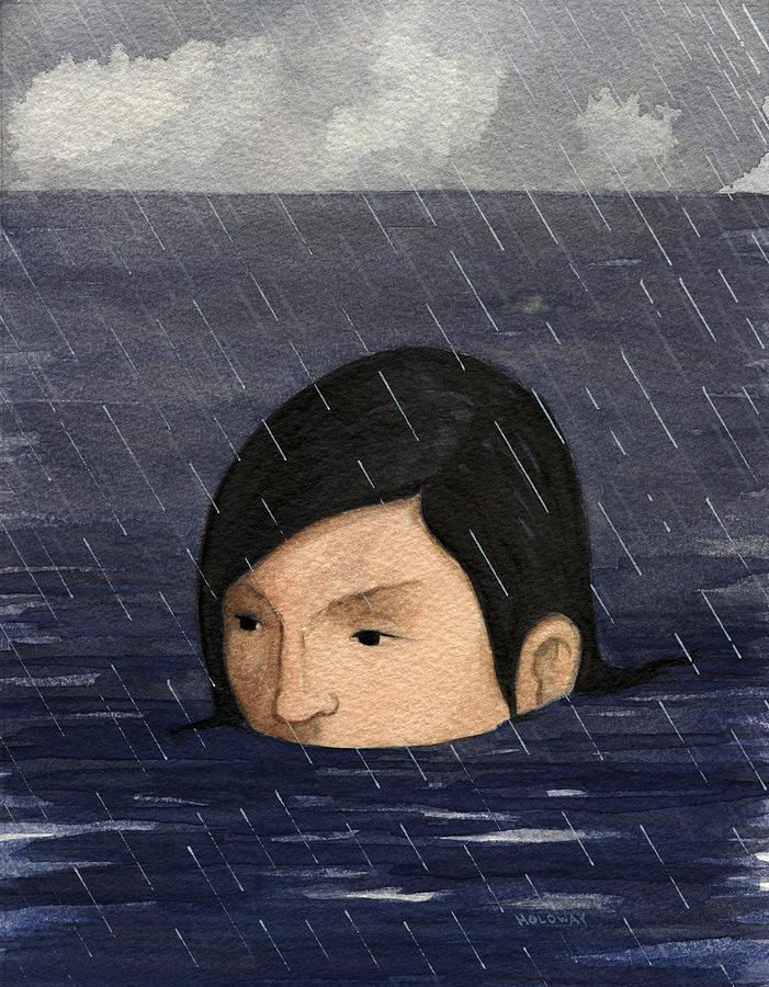 Big Flood Painting