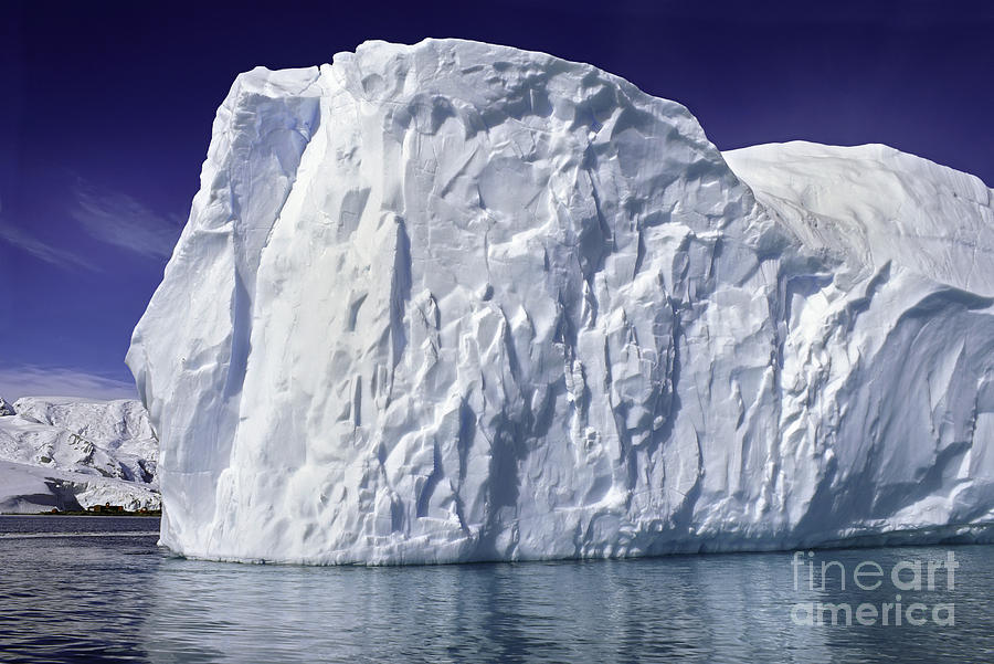 Big Iceberg Photograph  - Big Iceberg Fine Art Print