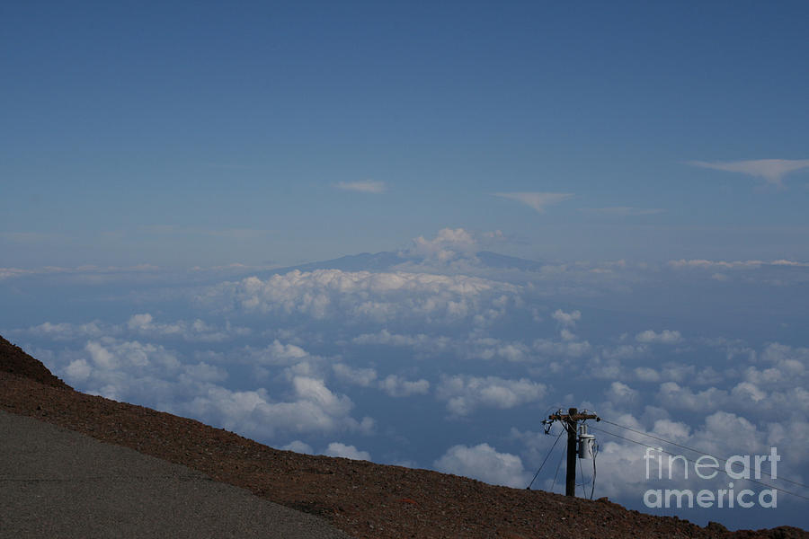 Big Island - Island Of Hawaii - View From The Summit Haleakala Maui Hawaii Photograph