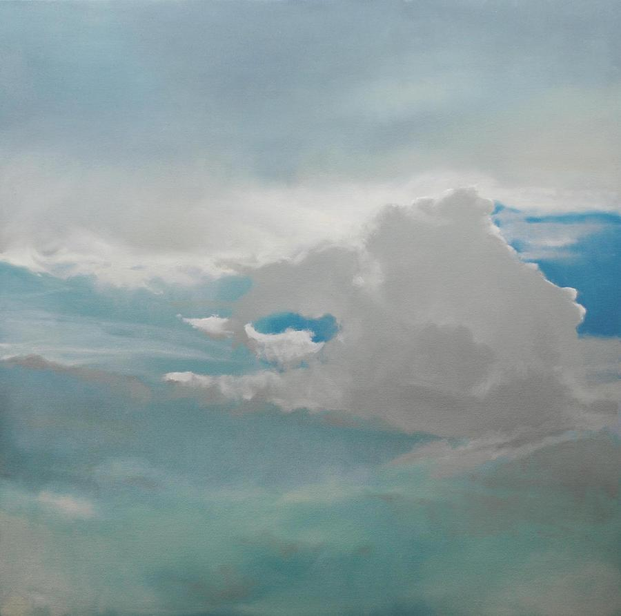 Big Sky Painting  - Big Sky Fine Art Print