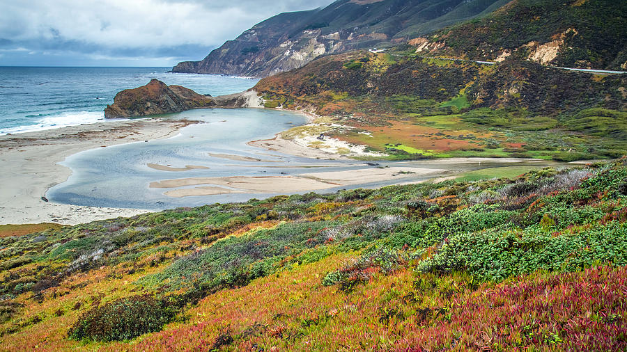 Big Sur Autumn Landscape Photograph  - Big Sur Autumn Landscape Fine Art Print