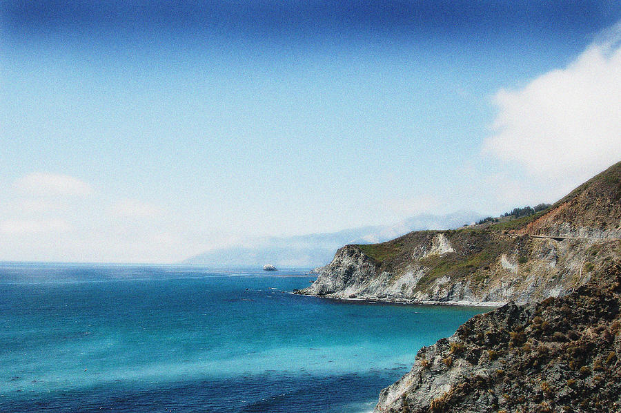 Big Sur Blue Photograph