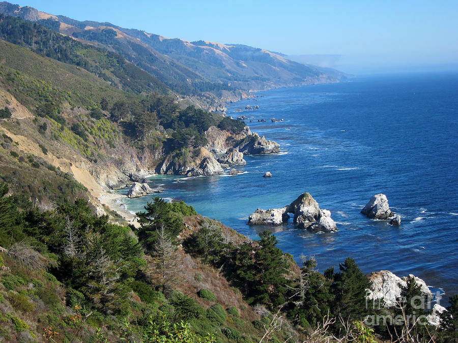 Big Sur Coast Ca Photograph
