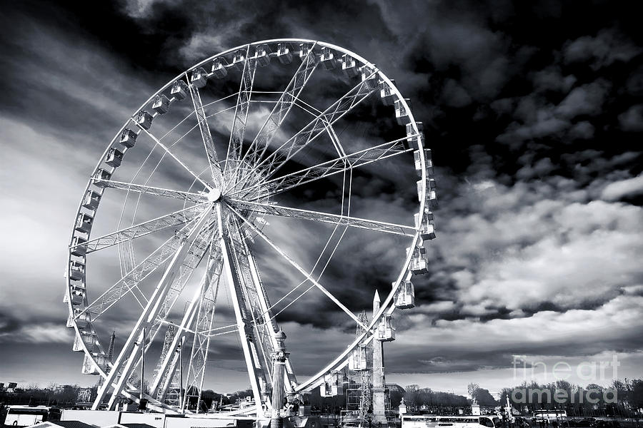 Big Wheel In Paris Photograph