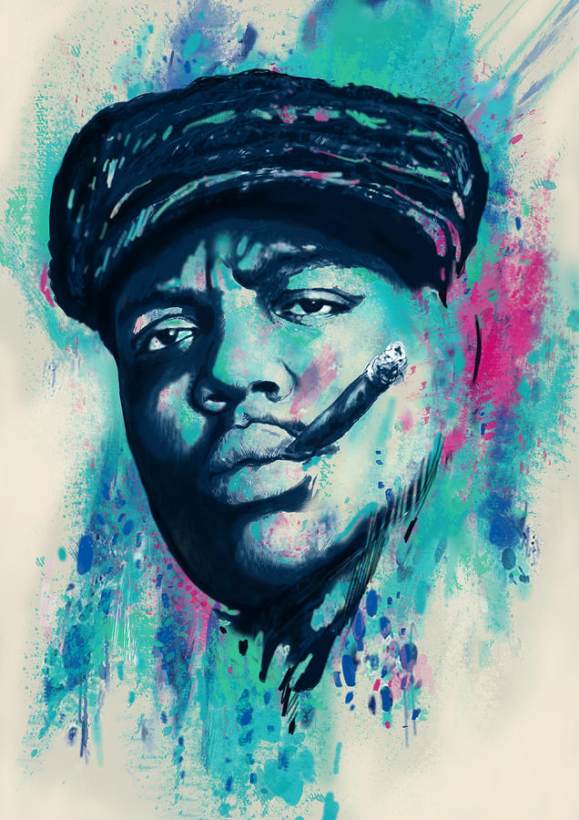 "Biggie Painting ""The Greatest Rap..."