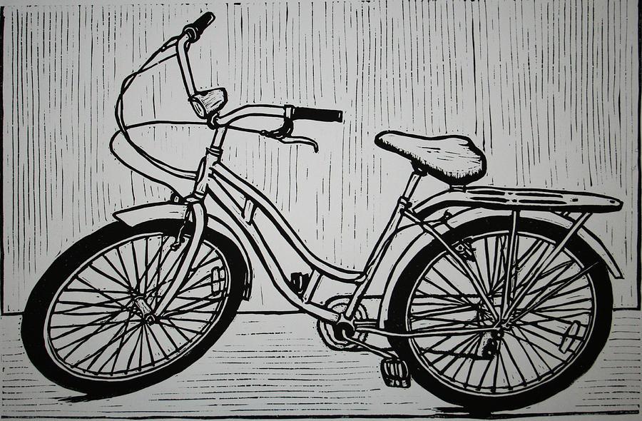 Bike 5 Drawing