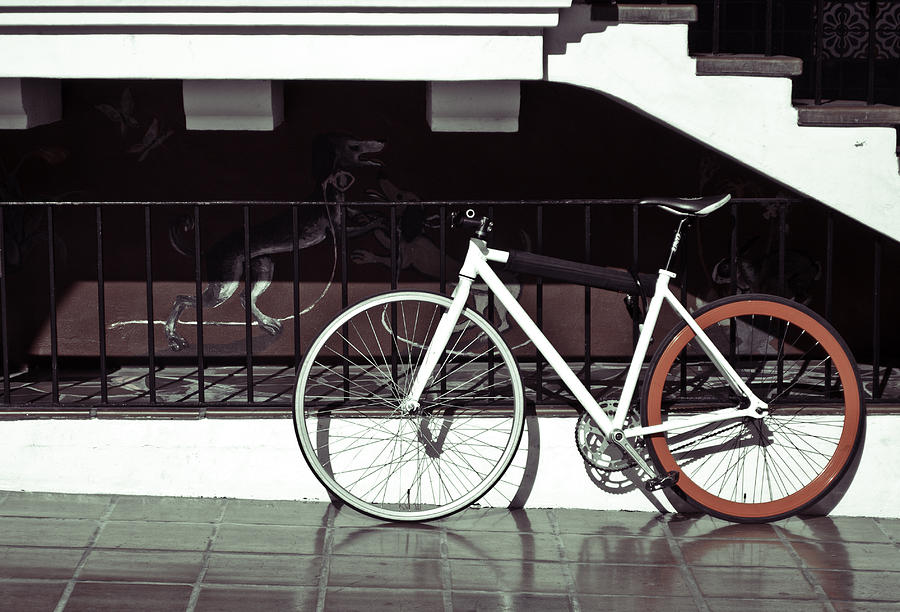 Bike Photograph - Bike by Andrew Raby