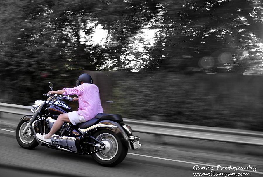 Biker Photograph