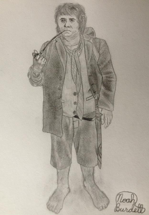 Bilbo Baggins Drawing