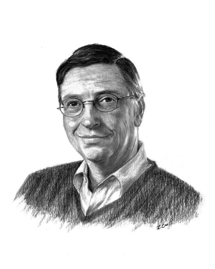 Bill Gates Eyeglasses Bill Gates Drawing