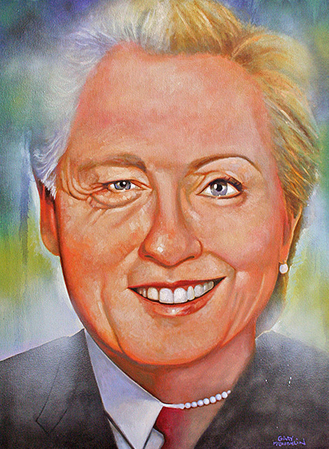 Portraits Painting - Billary by Gary McLaughlin