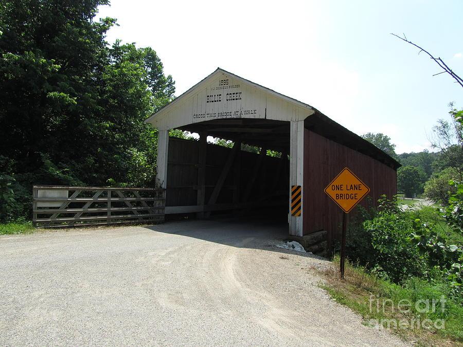 Billie Creek Bridge Photograph