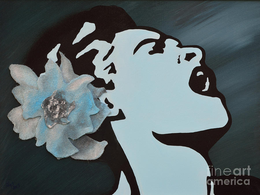 Billie Holiday Painting  - Billie Holiday Fine Art Print