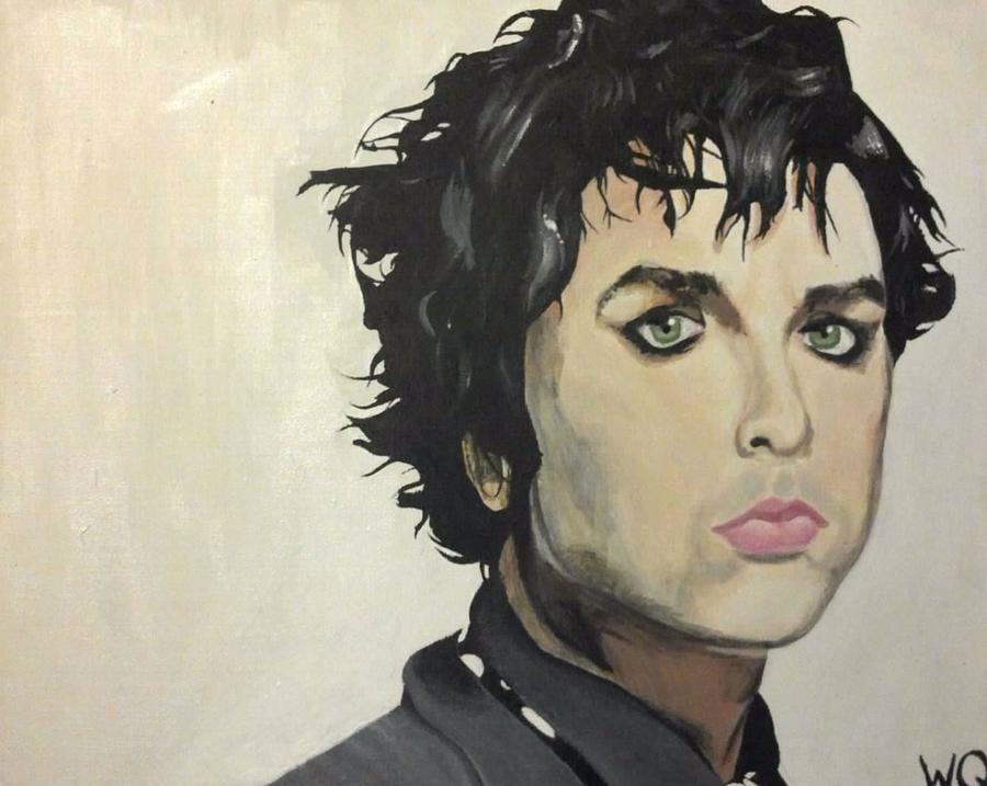Billie Joe Armstrong Painting  - Billie Joe Armstrong Fine Art Print
