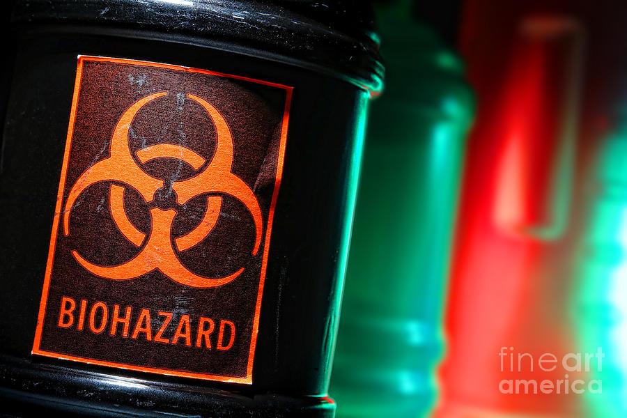 Biohazard Photograph - Biohazard by Olivier Le Queinec