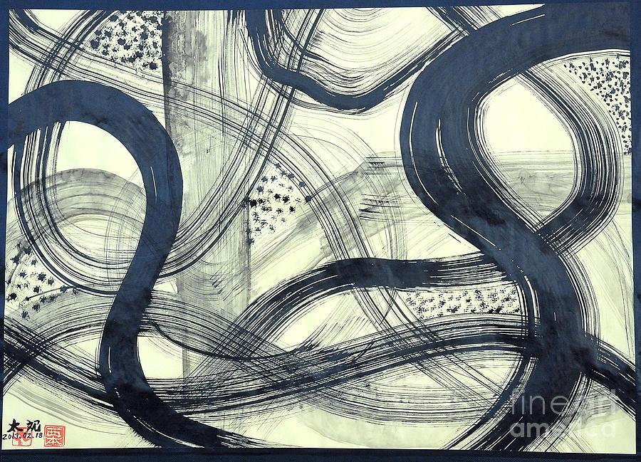 Biological Rhythms Painting