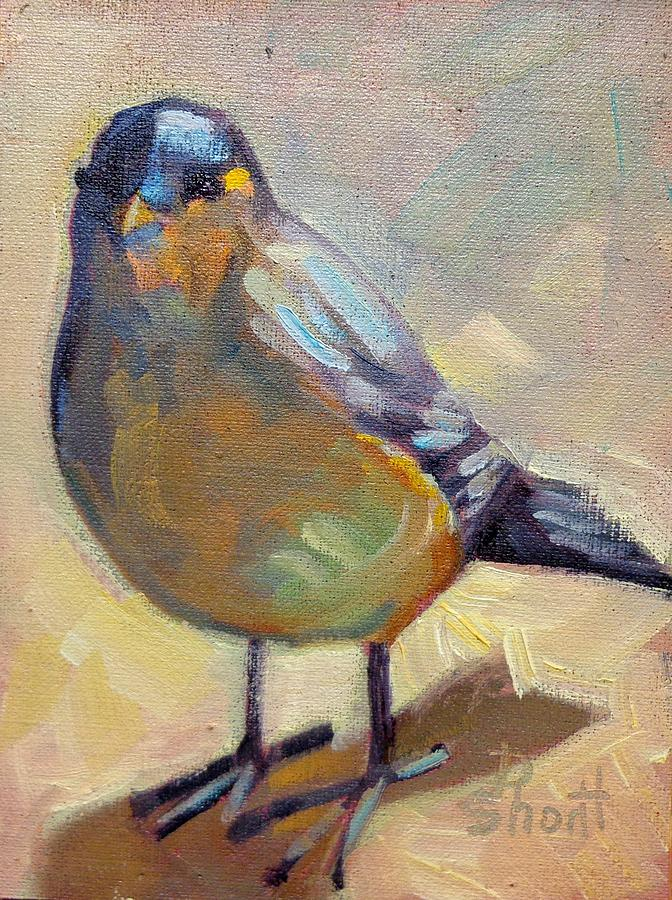 Bird Left Painting  - Bird Left Fine Art Print