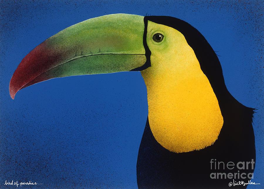 Bird Of Paradise... Painting