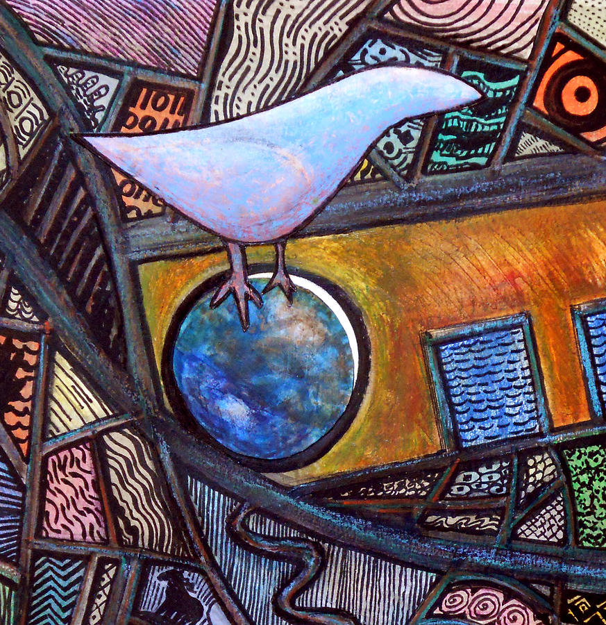 Birdball Painting