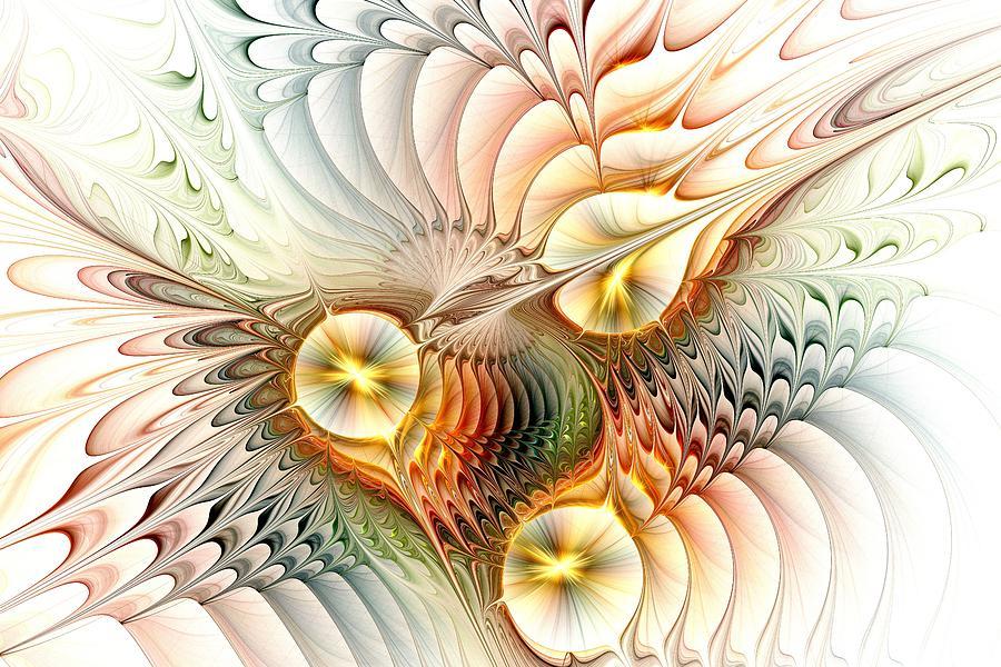 Malakhova Digital Art - Birds by Anastasiya Malakhova