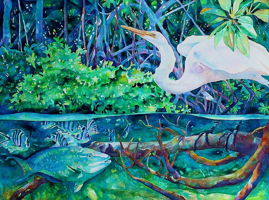 Birds Of A Feather Painting  - Birds Of A Feather Fine Art Print
