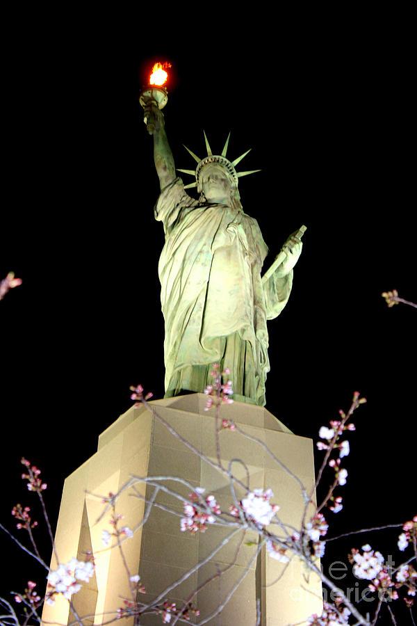 Birmingham Alabama Statue Of Liberty Replica Photograph