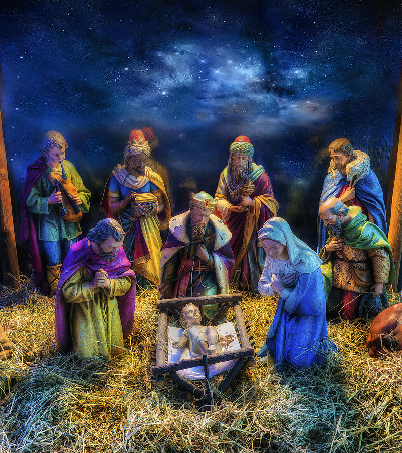 Birth Of Jesus Photograph