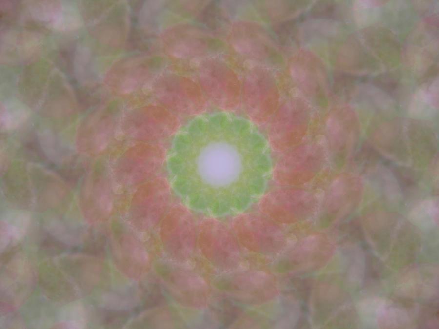 Birthing Mandala 1 Digital Art