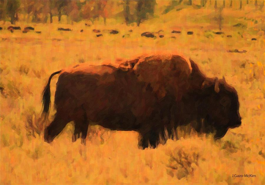 Bison Digital Art