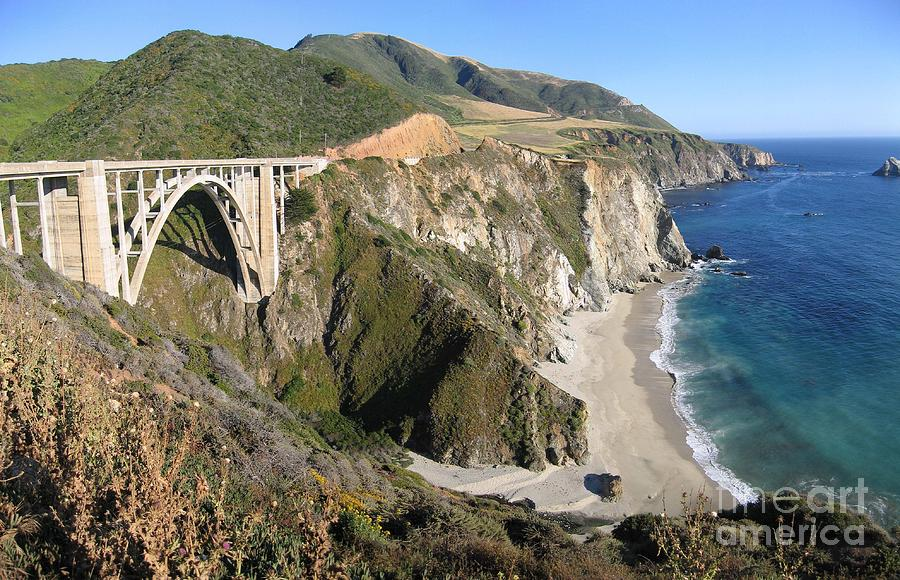 Bixby Bridge Photograph