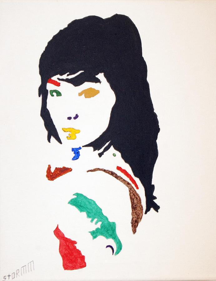 Bjork Painting