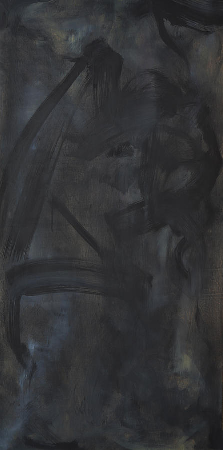 Black Abstract Painting