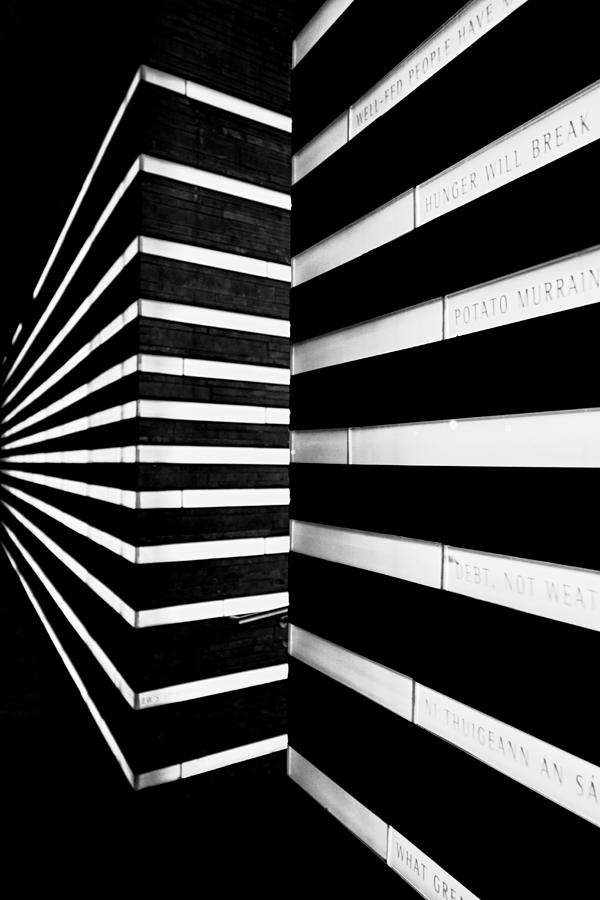 Black And White Line Art : Black and white lines photograph by pavel bendov