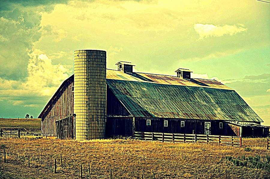 Black Forest Road Barn Photograph