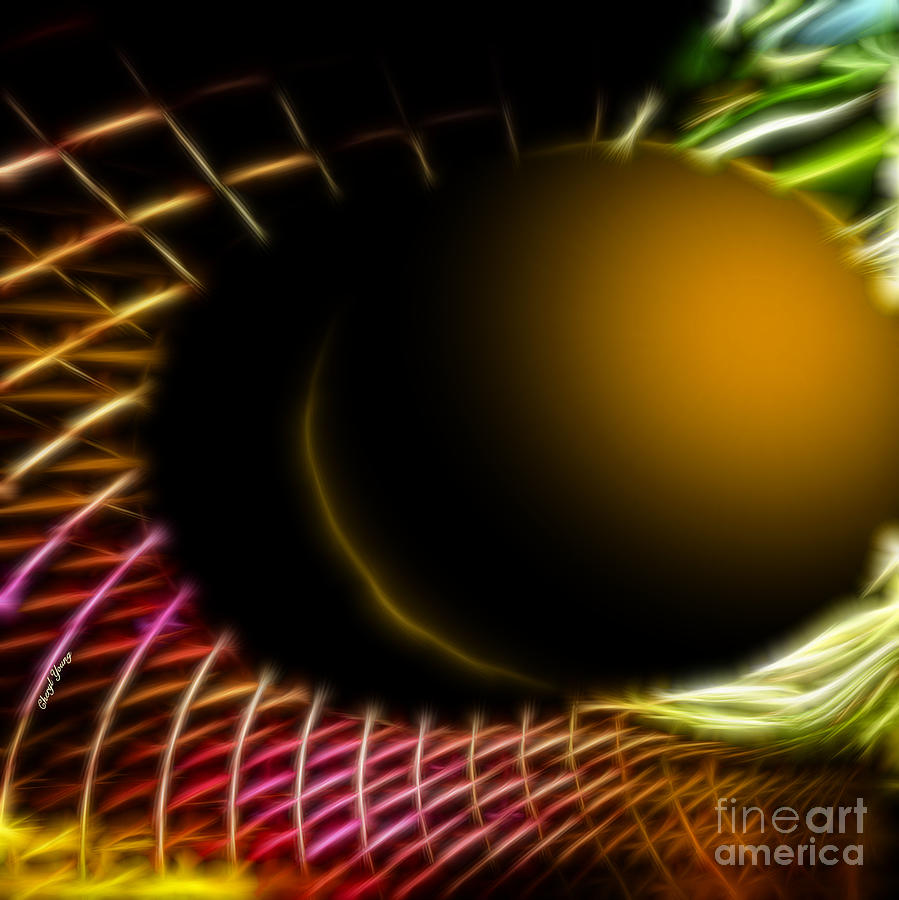 Black Hole Photograph  - Black Hole Fine Art Print