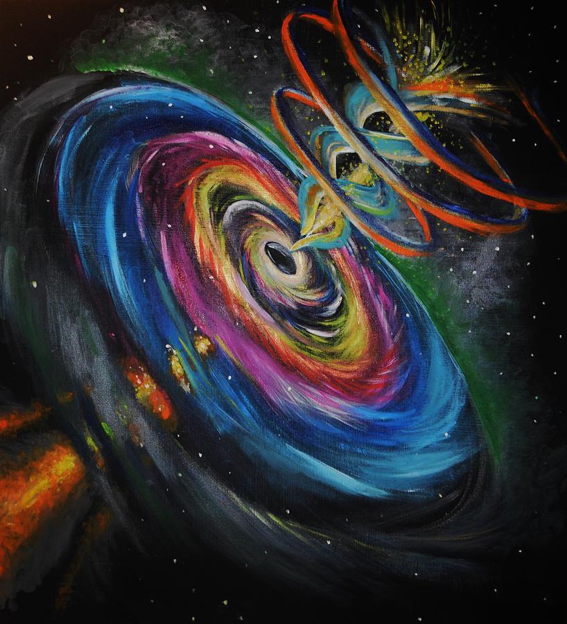 black hole painting - photo #1